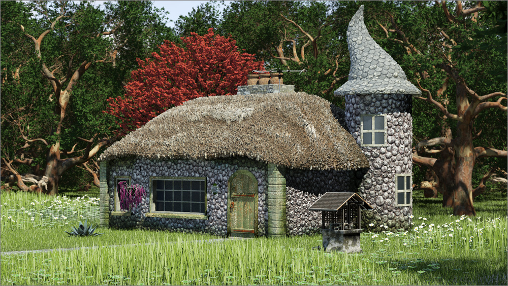 Cabin and cottage plans joy studio design gallery best for Witches cottage house plans